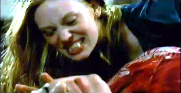 true blood jessica fangs. This is Jessica appearing to
