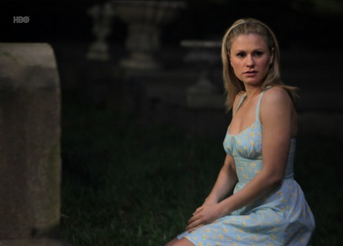 Anna Paquin in True Blood Episode 36 - Evil (Is Going On) - Sookie at Gran's grave
