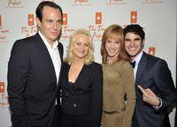 Trevprojpic32Will Arnett, Amy Poehler, Kathy Griffin and a star-struck Darren Criss