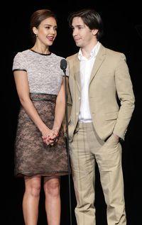 Jessica Alba and Justin Long