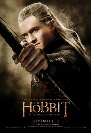 Hobbit Smaug_Legolas